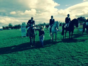 Alexander Butler winning the Horseware Louth County Premier Grand Prix 2015