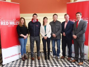 john geraghty liam o meara ronan corrigan,nicola fitzgibon and julieann gaffney and gareth connolly at the launch of the redmills spring tour 9/2/16 photo by Laurence dunne Jumpinaction.net