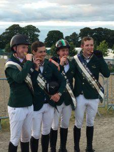 yr team members win gold at Europeans in Millstreet 2016